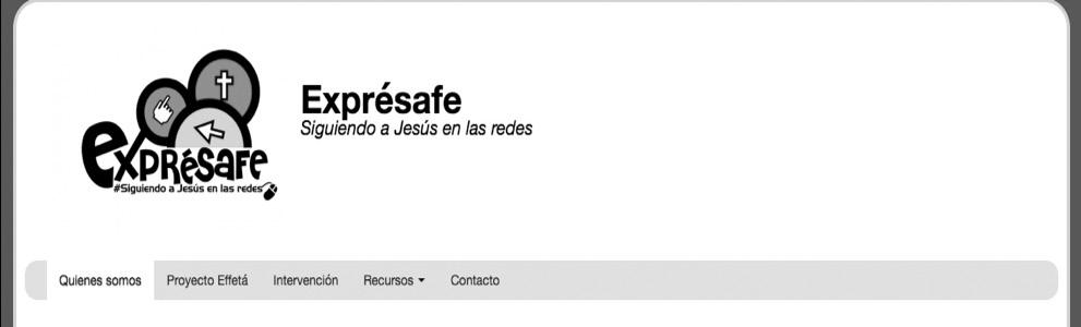 Gráfica N°3 Captura de pantalla de página web Exprésafe